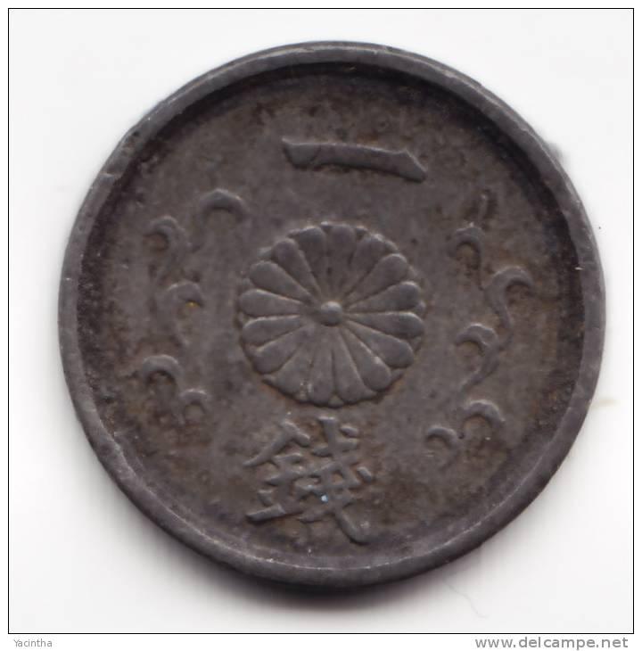 @Y@    JAPAN  1 SEN 1944   Year  19    XF   (2215) - Japon