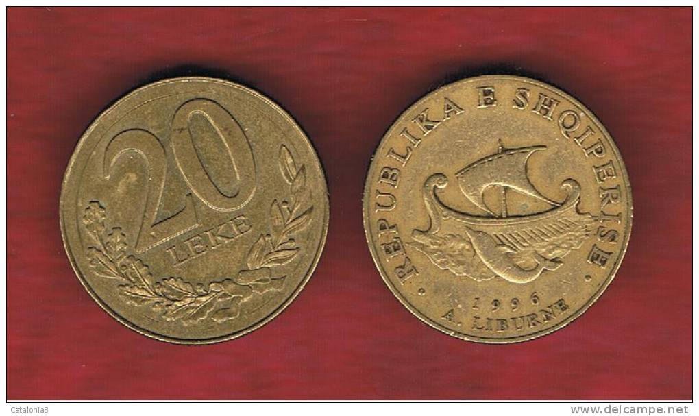 ALBANIA   20 Lek   1996  KM78 - Albania