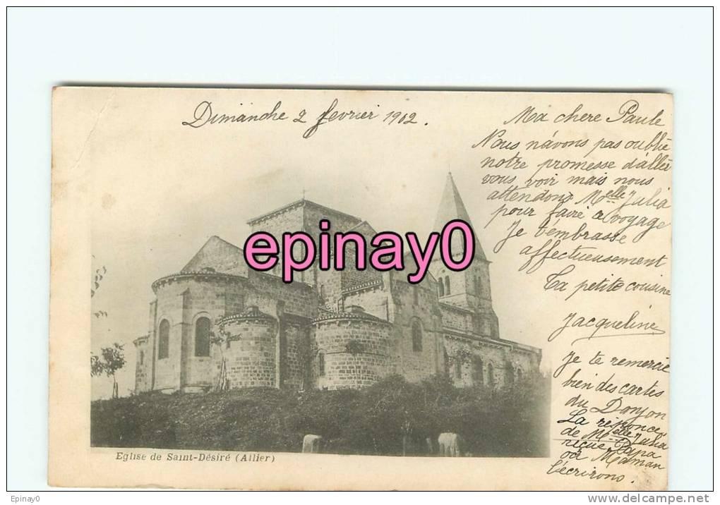 Br - 03 - SAINT DESIRE - L'église - - France