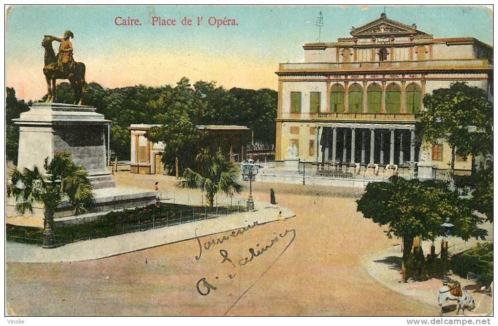 B-13  : 1192  : Carte Postale Avec Cachet Régiment D´infanterie (carte Du Caire Egypte) - Égypte