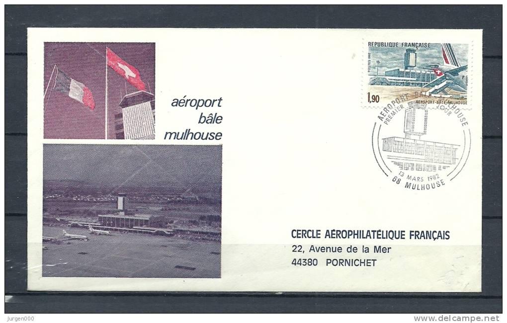 FRANKRIJK, 13/03/1982 Aeroport Bale - MULHOUSE  (GA8627) - Avions