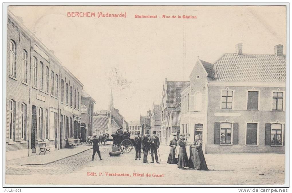 16775g STATIESTRAAT - Rue De La STATION - Berchem - Kluisbergen
