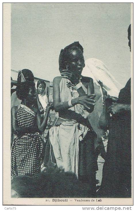 Afrique - Djibouti - Femme - Lait - Djibouti