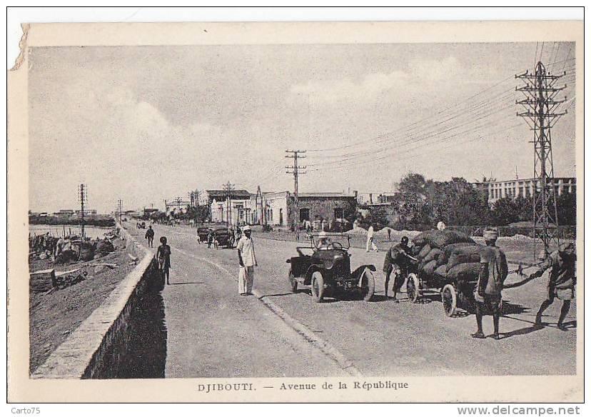 Afrique - Djibouti - Village - Avenue De La République - Djibouti