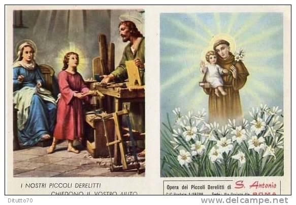 Calendarietto - Opera Dei Piccoli Derelitti - S.antonio - Roma 1962 - Calendriers