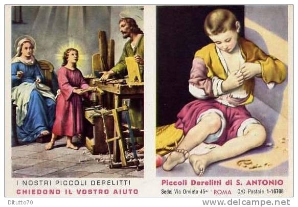 Calendarietto - Piccoli Derelitti - S.antonio - Roma 1961 - Calendriers