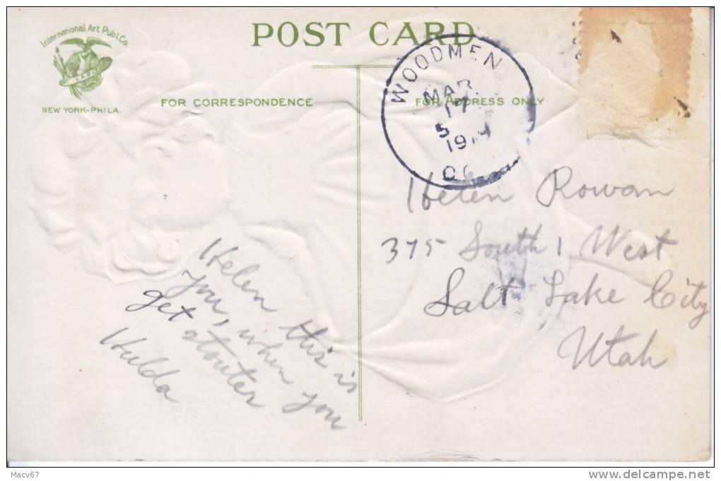 St. Patrick´s Day   Artist Signed CLAPSADDLE  (o) 1918 - Saint-Patrick's Day
