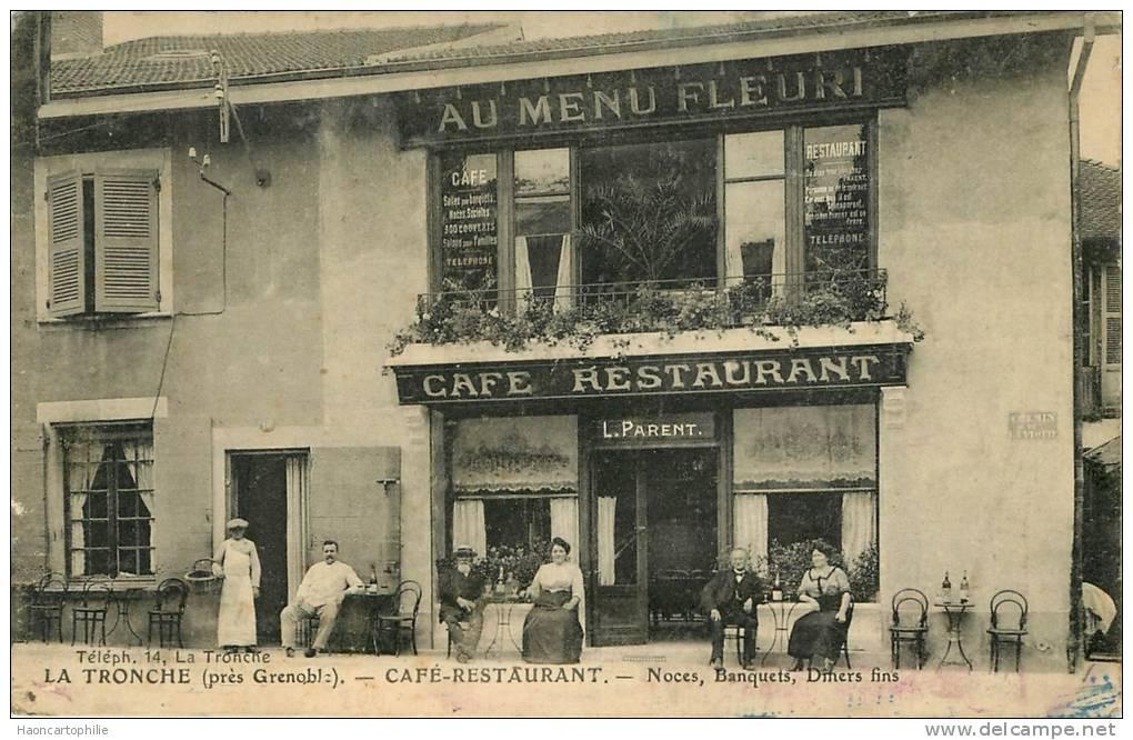 Grenoble : La Tronche , Café Restaurant - Autres Communes