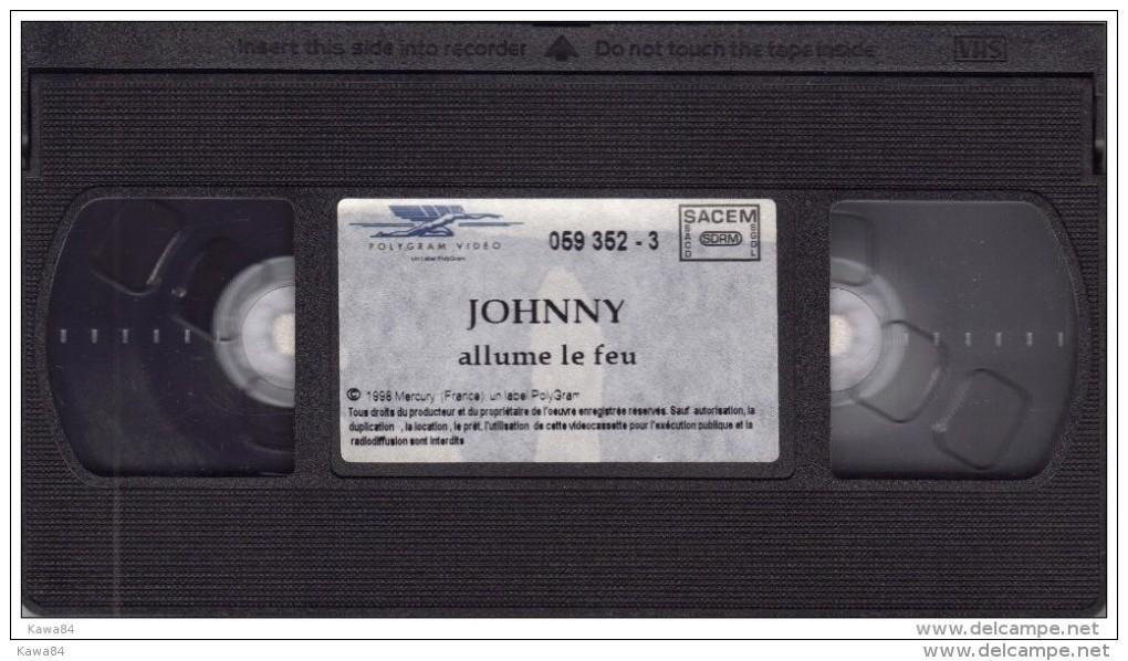 """V-H-S  Johnny Hallyday  """"  Stade De France 98  """" - Concert Et Musique"""