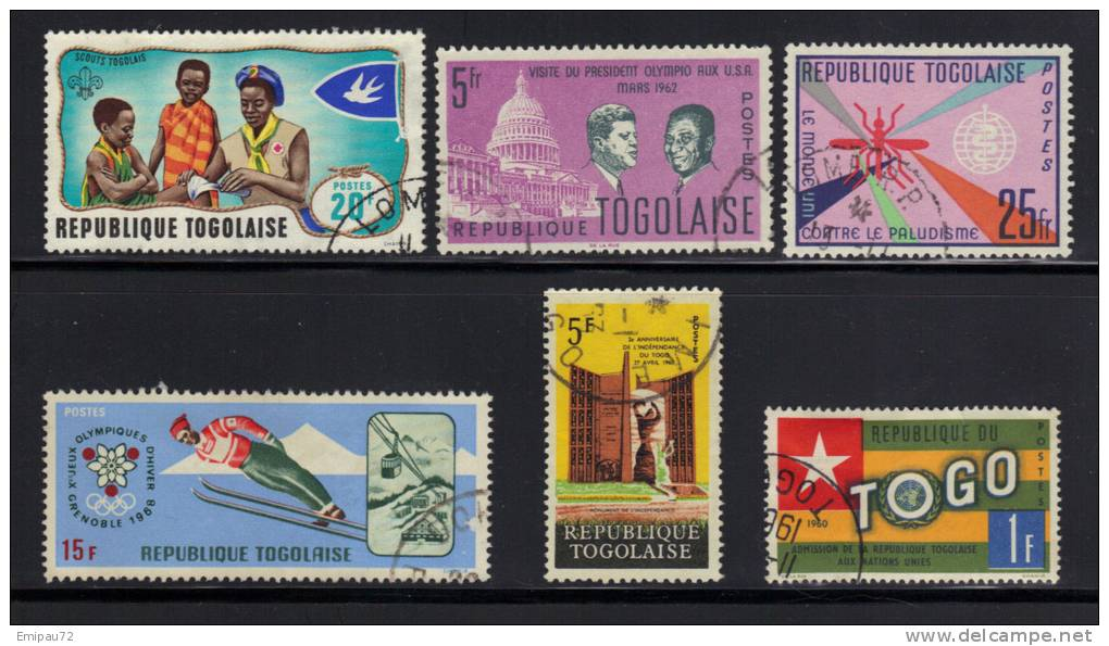 TOGO- Divers Timbres Oblitérés - Togo (1960-...)