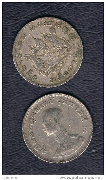 TAILANDIA -  1 Baht   1962  KM84 - Tailandia
