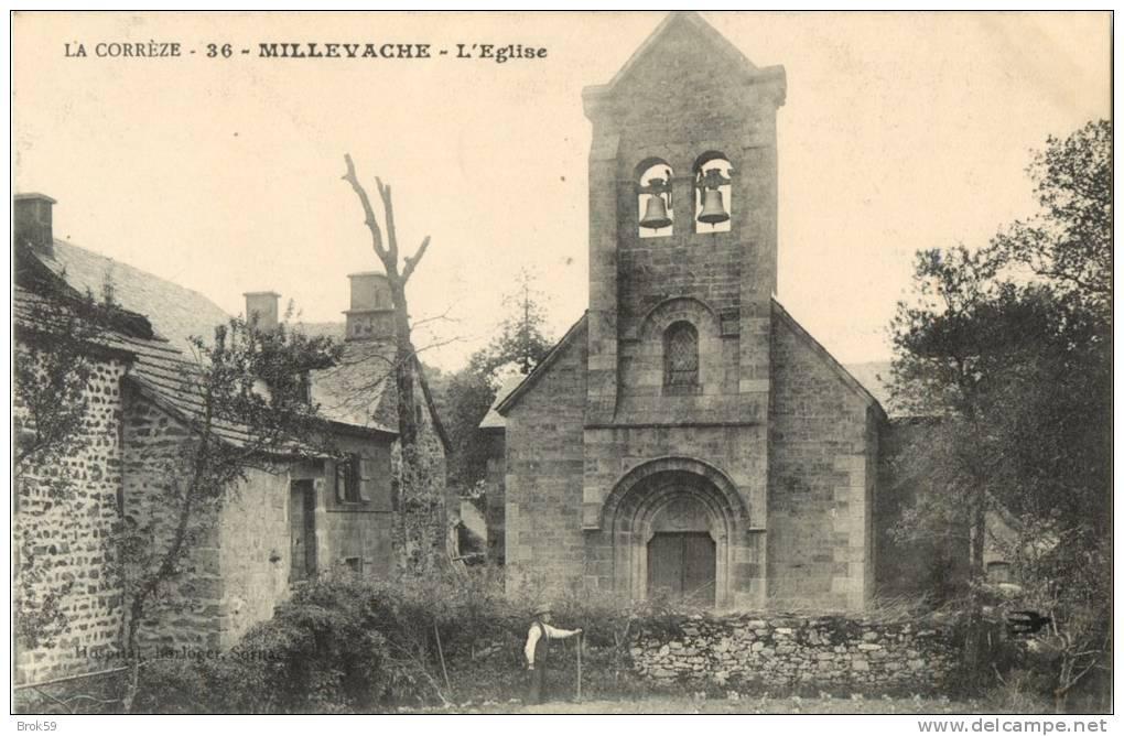 19 MILLEVACHE - L EGLISE - France