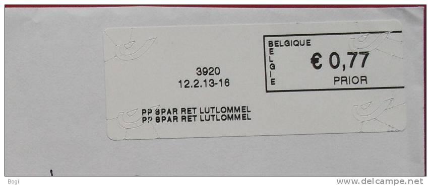 België 2013 PP Spar Ret Lutlommel 3920 - Nieuw Logo Bpost - Frankeervignetten