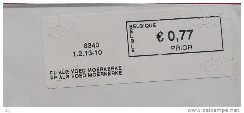 België 2013 PP Alg Voed Moerkerke 8340 - Nieuw Logo Bpost - Frankeervignetten