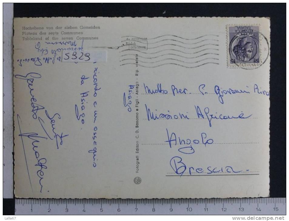 VENETO - VICENZA - ALTOPIANO DEI SETTE COMUNI N. 5929 (VEDUTINE) - Vicenza