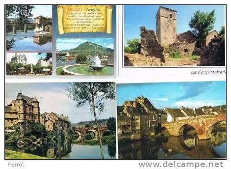 260213W  Lot De 195 CPM/CPSM Couleur  Vierges Pour Courrier : Dep. 12 (Aveyron) - Cartes Postales