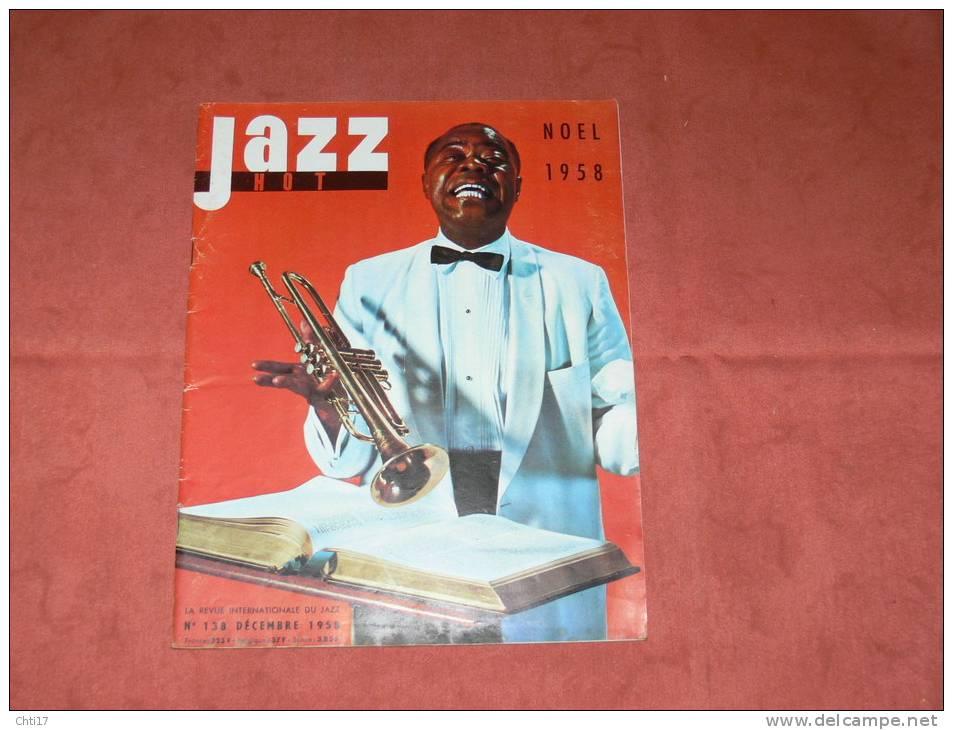 JAZZ HOT 1958 N° 138 DECEMBRE ART BLAKEY / DONALD BYRD / DUKE ELLINGTON / MAL WALDRON - Musique