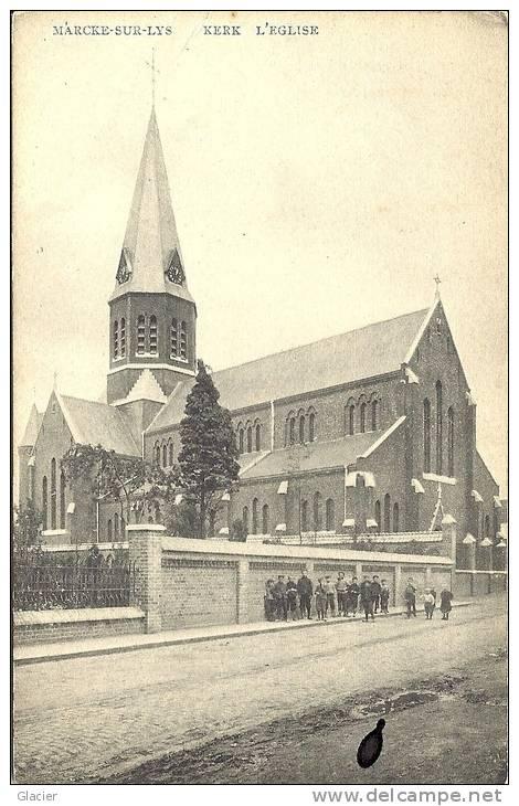 MARCKE-SUR-LYS - Kortrijk - Kerk - Eglise - Uitg. Em. Boussier-Vandorpe - Kortrijk