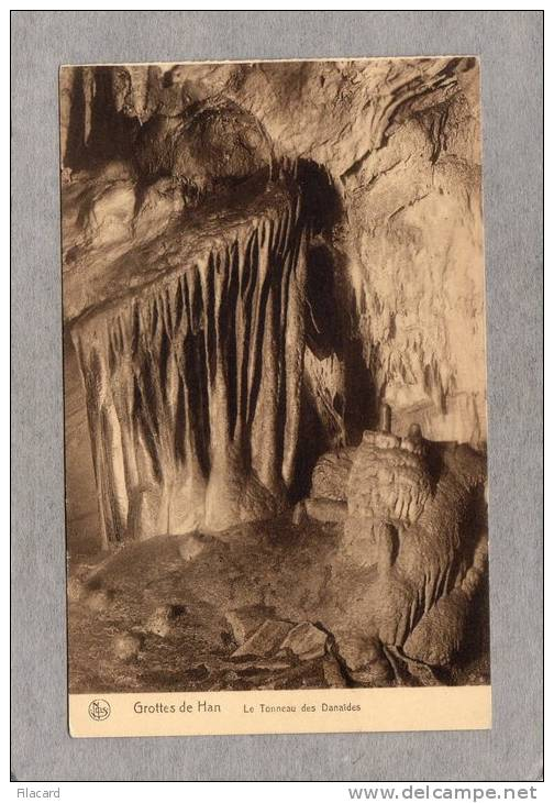 35980    Belgio,   Grotte  De  Han -  Le  Tonneau  Des  Danaides,  NV - Rochefort