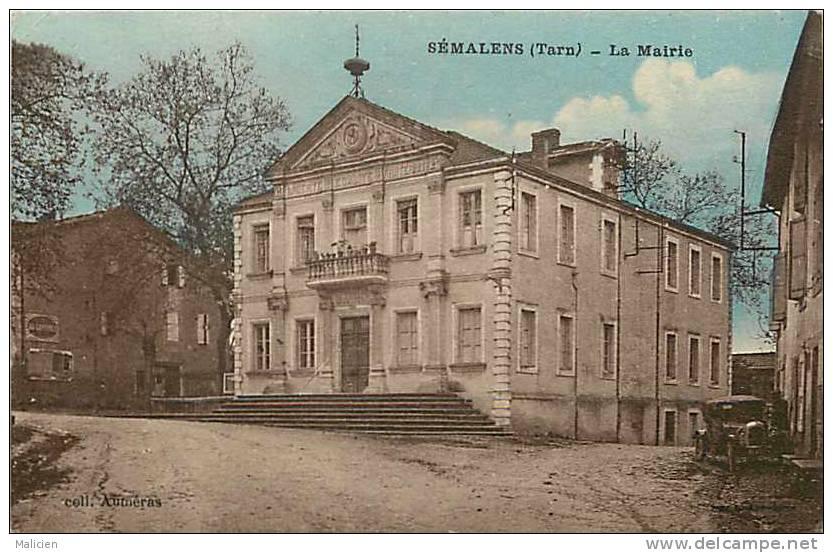 DEPTS DIV- Tarn -ref -F815- Semalens - La Mairie - Carte Bon Etat - - Francia