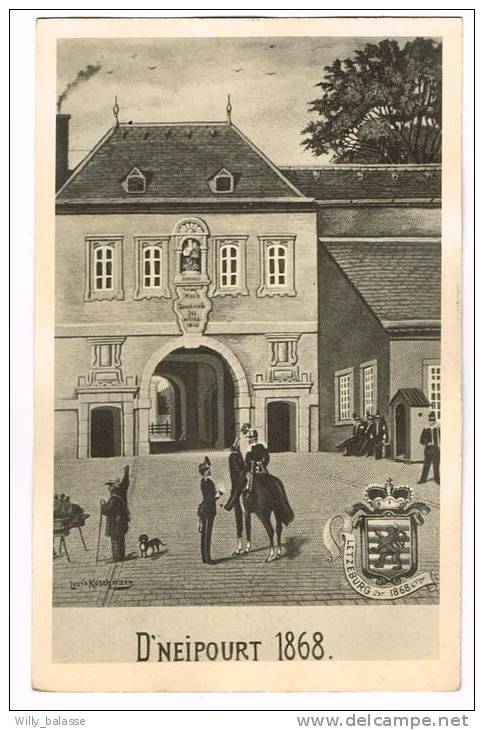 """Postkaart / Carte Postale """"Luxembourg - Photo - D'Neipourt 1868"""" - Luxembourg - Ville"""