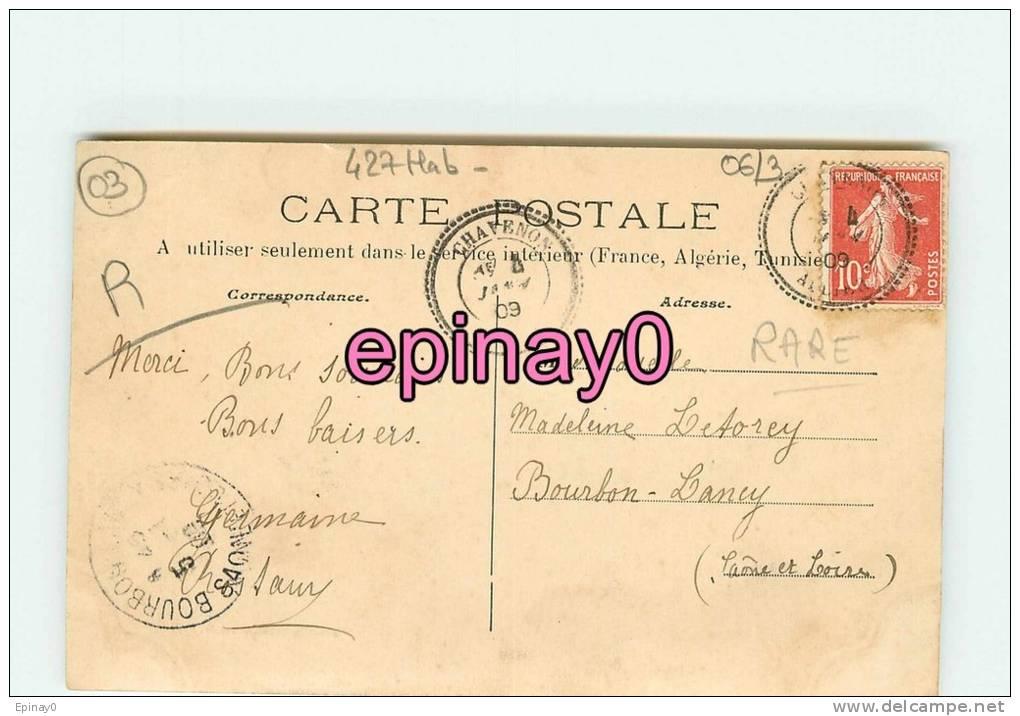 Br - 03 - CHAVENON - La Gare - édit. Caquet - - France