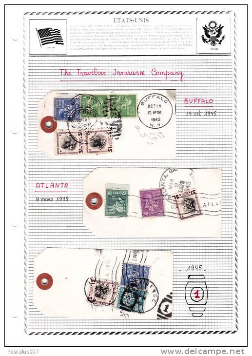 Très Bel Ensemble  The Travelers Insurance Company - Buffalo 19-10-1945 - Atlanta 09-03-1945 - X - Etats-Unis