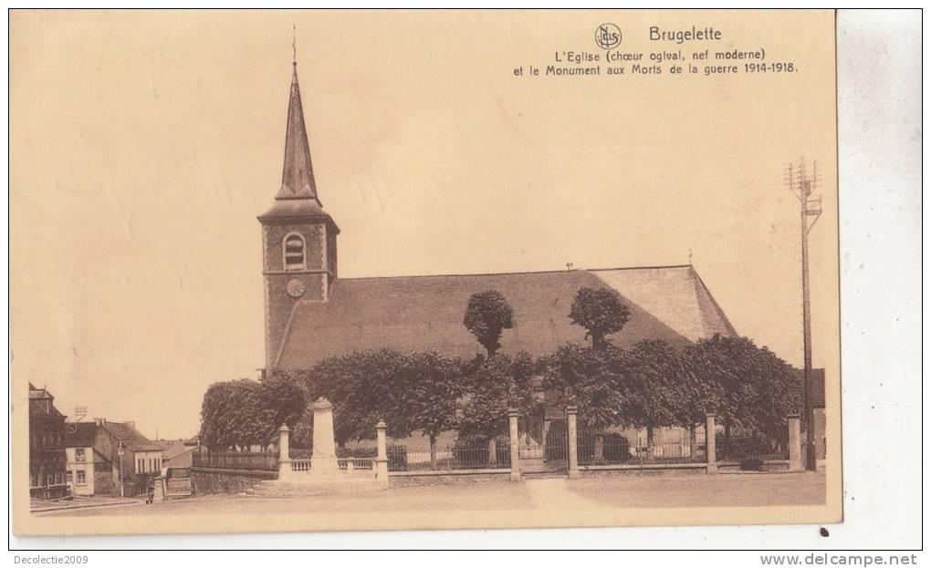 BR55610 Brugelette L Eglise   2 Scans - Brugelette