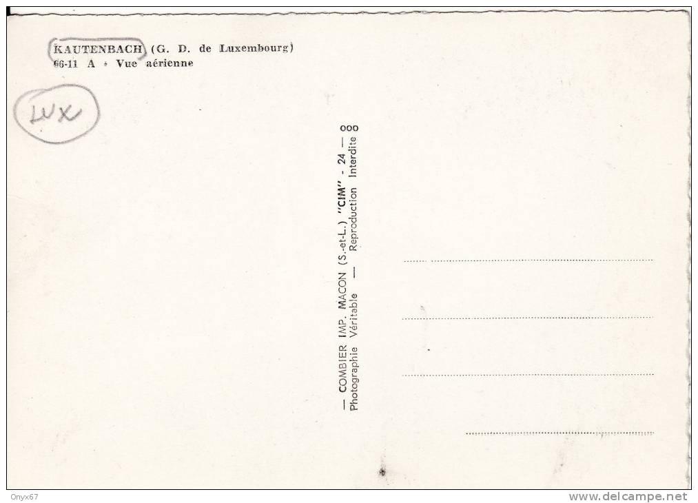 KAUTENBACH  (Grand Duché Du Luxembourg) Vue Du Village - Carte Grand Format Semi-moderne - Cartes Postales
