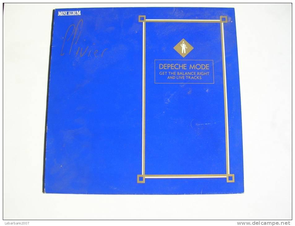 "MAXI - DEPECHE MODE  - MUTE 585004  "" GET THE BALANCE RIGHT "" + 5 - 45 T - Maxi-Single"