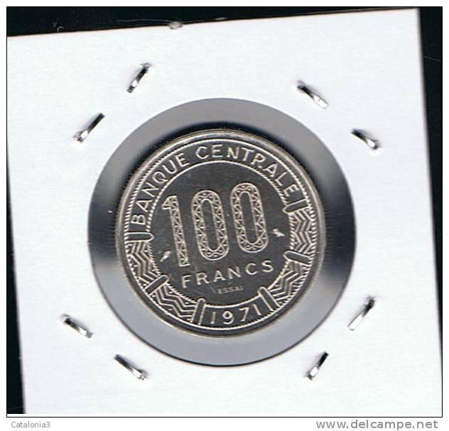 CHAD - 100 Francs 1971 SC  KME3  ESSAIS - Super Rara - Chad