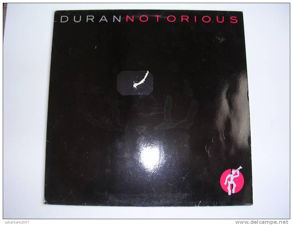 "MAXI - DURAN DURAN  - EMI 201513  "" NOTORIOUS "" + 2 - 45 T - Maxi-Single"