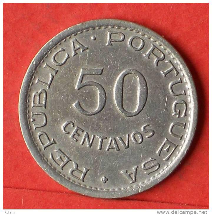 ANGOLA  50  CENTAVOS  1948   KM# 72  -    (1453) - Angola