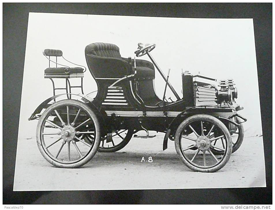 PEUGEOT - TYPE 36 DE 1902 - PHOTO 18 X 24 - Riproduzioni