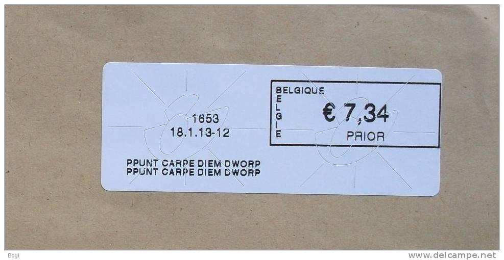 België 2013 PPunt Carpe Diem Dworp 1653 (fragment) - Vignette
