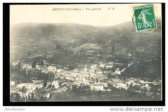 03 ARFEUILLES / Vue Générale / - Autres Communes