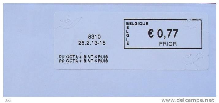 België 2013 PP Octa + Sint-Kruis 8310 Nieuw Type - Logo Bpost - Frankeervignetten