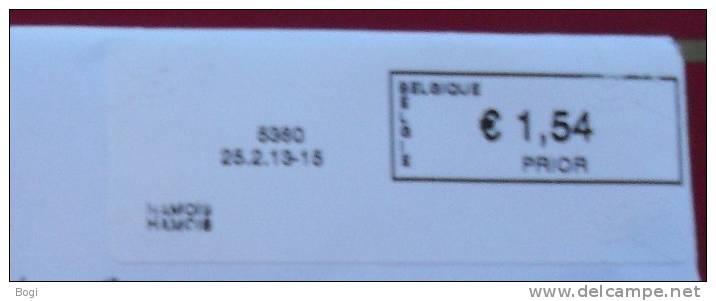 België 2013 Hamois 5360 Nieuw Type - Logo Bpost - Frankeervignetten