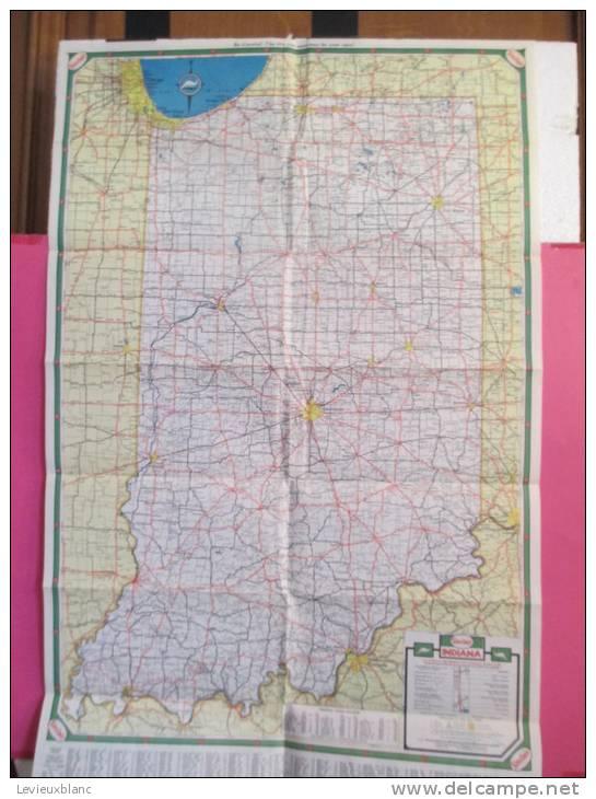 USA/Indiana/Indianapolis / /HC Sinclair Gasoline / 1950          PGC20 - Cartes Routières