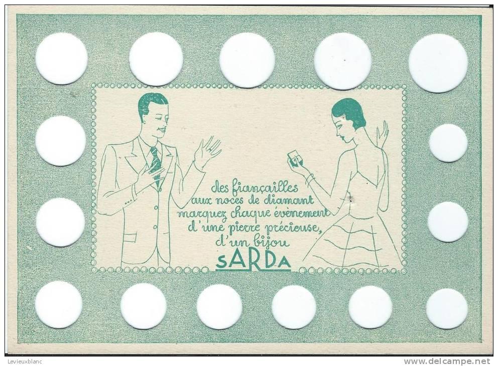 Baguier/ Pour Prendre La Mesure De La Grosseur Des Doigts / SARDA/ Besançon / Doubs/ Vers 1930   BIJ7 - Jewels & Clocks
