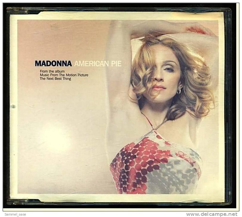Musik Single CD  -  Madonna  American Pie  -  Von WEA International Inc. Nr. 9362448372  -  Jahr 2000 - Disco, Pop