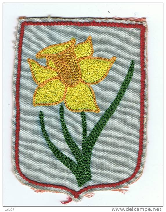 Ecusson   Fleur Brodée - Escudos En Tela
