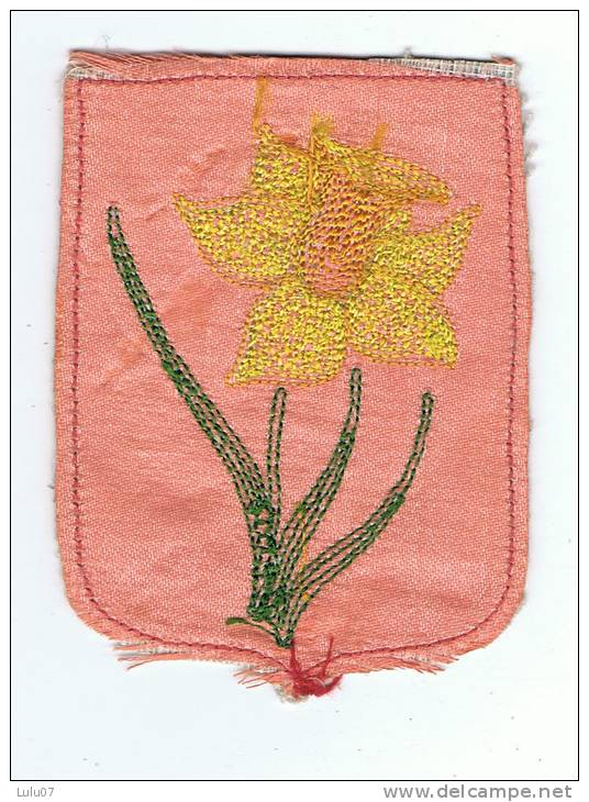 Ecusson   Fleur Brodée - Patches