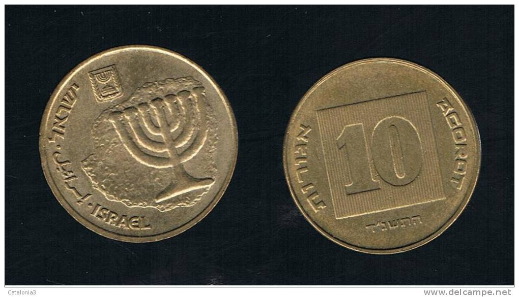 ISRAEL -  10 Agorot  KM158 - Israel