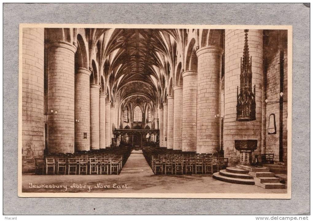 36581     Regno  Unito,      Jewkesbury  Abbey  -  Nave  East,  NV(scritta) - Inghilterra