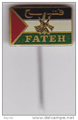 FATEH  --  EMAIL, ENAMEL - Pin's & Anstecknadeln