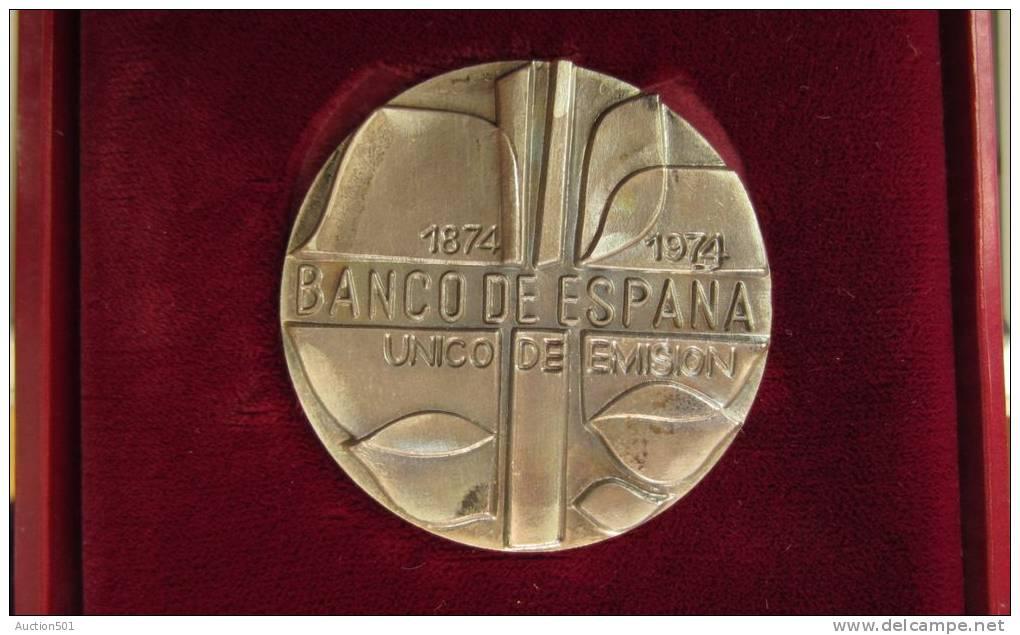 M01109 Banco De Espana 1874-1974, Unico De Emision, (68 G.) - Espagne
