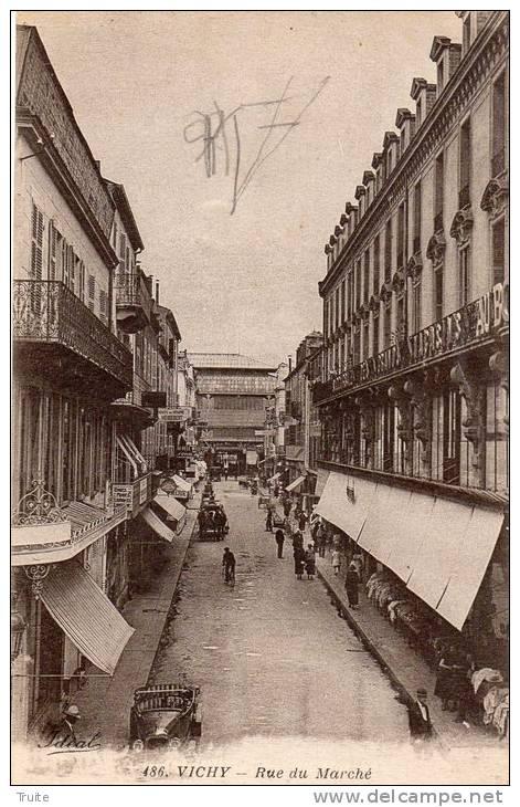 VICHY RUE DU MARCHE - Vichy