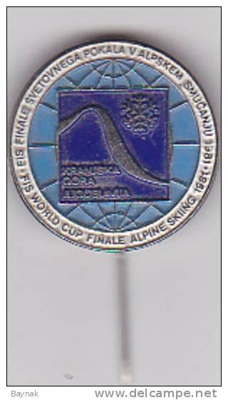 SLOVENIJA  -  FIS WORLD CUP FINALE ALPINE SKIING 1981 - Wintersport