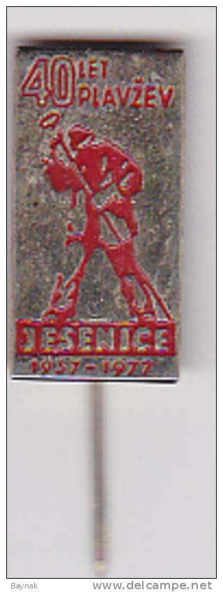 SLOVENIJA  -  JESENICE  --  40 LET PLAVZEV   -   SKI SPORT  -  1977 - Wintersport